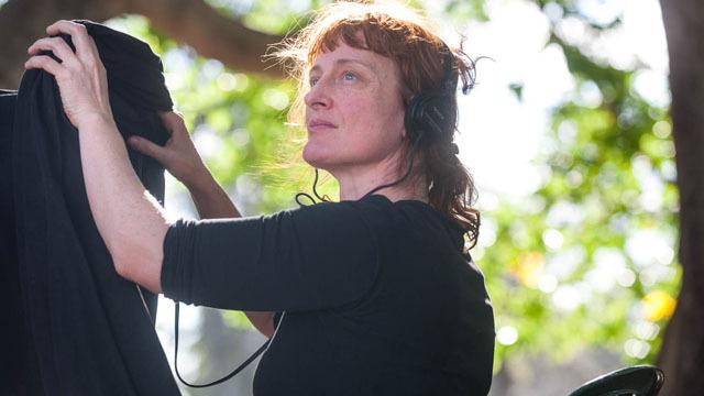 Jennifer Kent no set de O Babadook