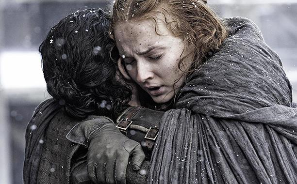 Jon Snow e Sansa Stark