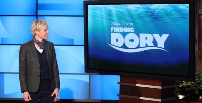 Ellen DeGeneres, apresentadora líder de audiência e atriz líder de bilheteria