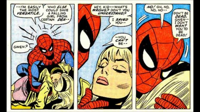 Gwen Stacy morte