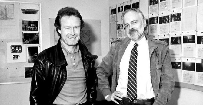 Ridley Scott e Philip K. Dick em 1982