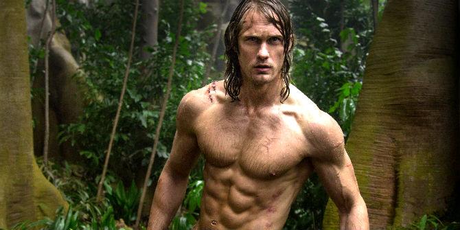 Alexander Skarsgard em A Lenda de Tarzan