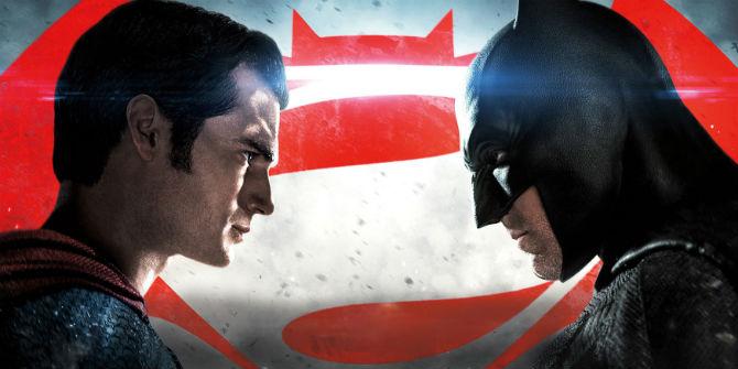 Henry Cavill e Ben Affleck em Batman vs Superman: A Origem da Justiça