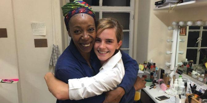 Emma Watson encontra nova intérprete de Hermione e não poupa elogios