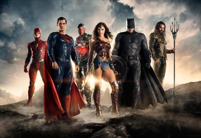 Nova foto da Liga da Justiça