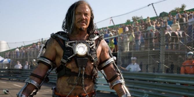 Mickey Rourke em Homem de Ferro 2