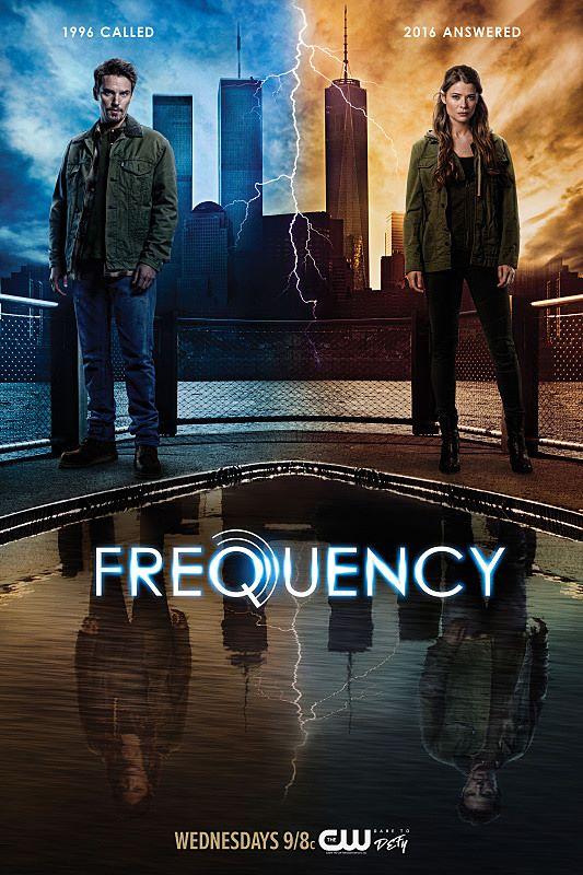Resultado de imagem para frequency serie posters