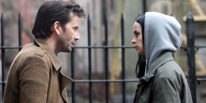 David Tennant e Krysten Ritten em Jessica Jones