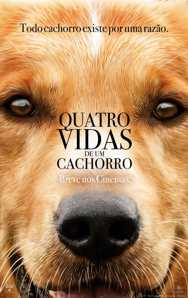 Resultado de imagem para Quatro Vidas de Um Cachorro poster