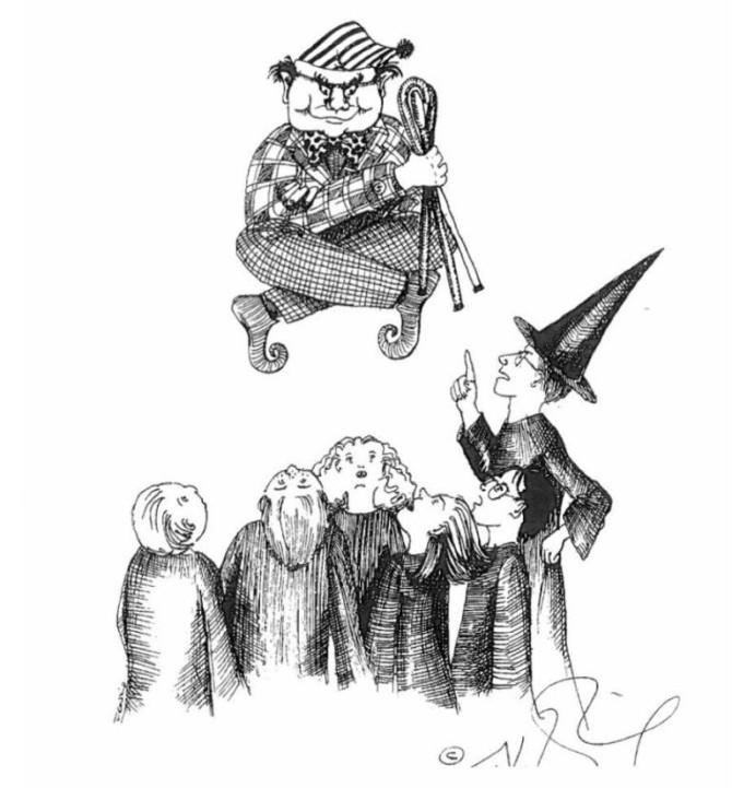 J.K. Rowling Faz Desenhos Com O Visual