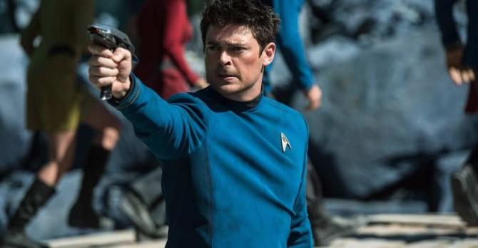 Karl Urban em Star Trek