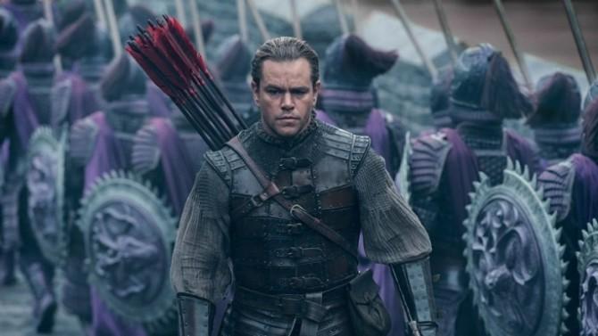Matt Damon salva a China em A Grande Muralha