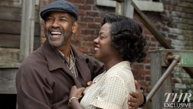 Denzel Washington e Viola Davis em Fences