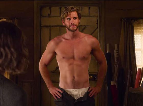 Liam Hemsworth em A Vingança Está na Moda