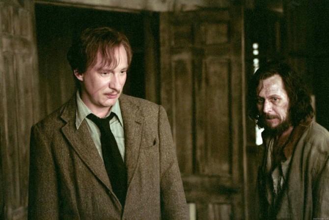 Lupin e Sirius eram lidos como um casal por fãs (antes de Lupin se casar e ter filhos)
