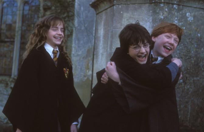 Harry e Rony, uma amizade sem carga sexual