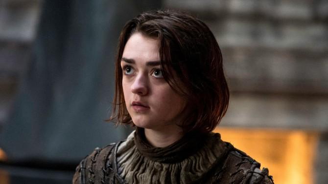 Arya Stark em Game of Thrones