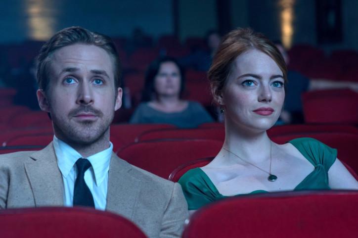Ryan Gosling e Emma Stone em La La Land