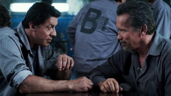 Stallone homenageia Schwarzenegger com discurso de aniversário