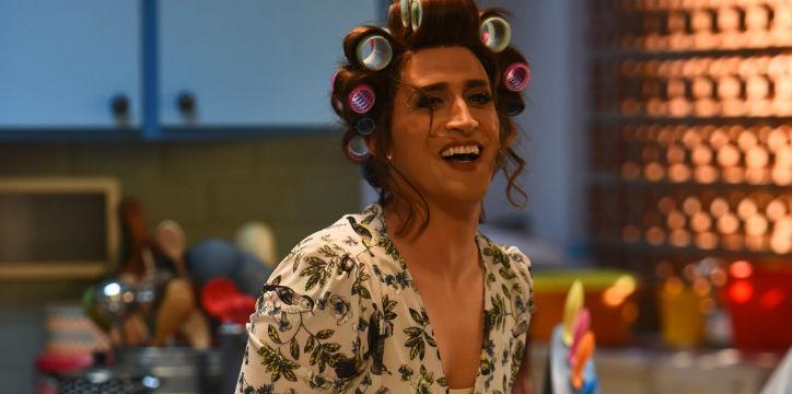 Paulo Gustavo como Dona Hermínia