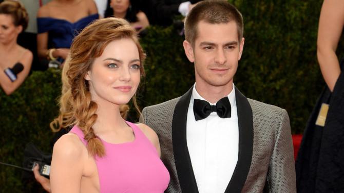 Andrew Garfiel e Emma Stone estão juntos novamente, segundo tabloide