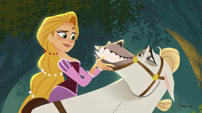 enrolados rapunzel retorna em trailer da série baseada no filme da