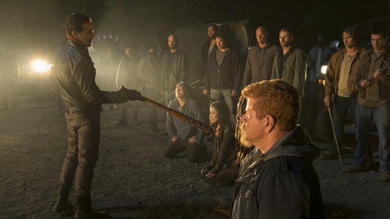Cena de The Walking Dead