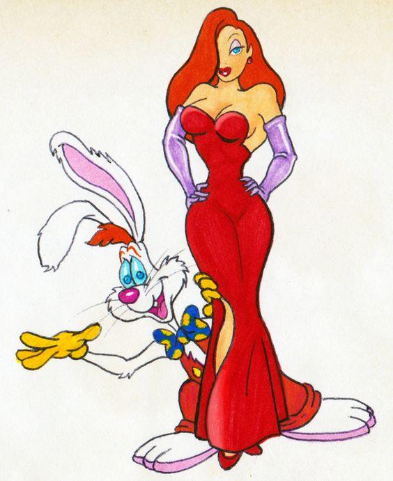 Roger e Jessica Rabbit