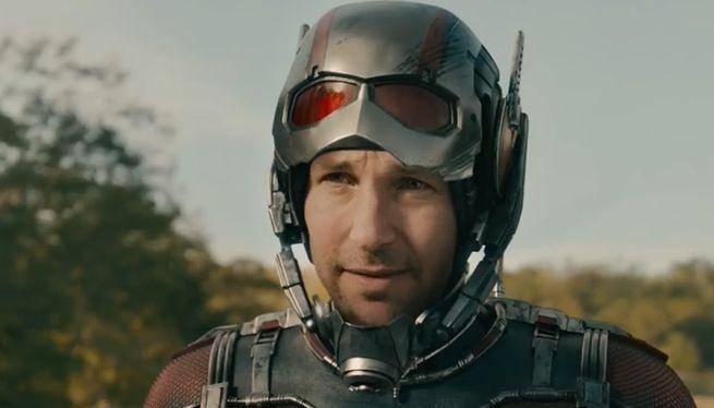 Paul Rudd como o Homem-Formiga