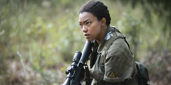 Sasha em The Walking Dead