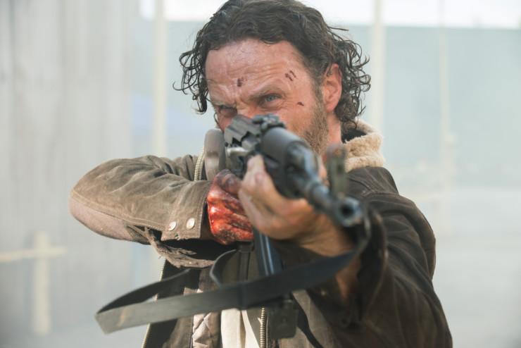 Rick Grimes em The Walking Dead