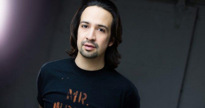 O ator Lin-Manuel Miranda