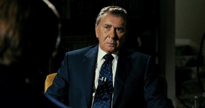 Frank Langella como Richard Nixon em Frost/Nixon (2009)