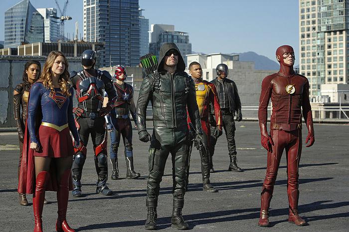 Heróis da DC reunidos