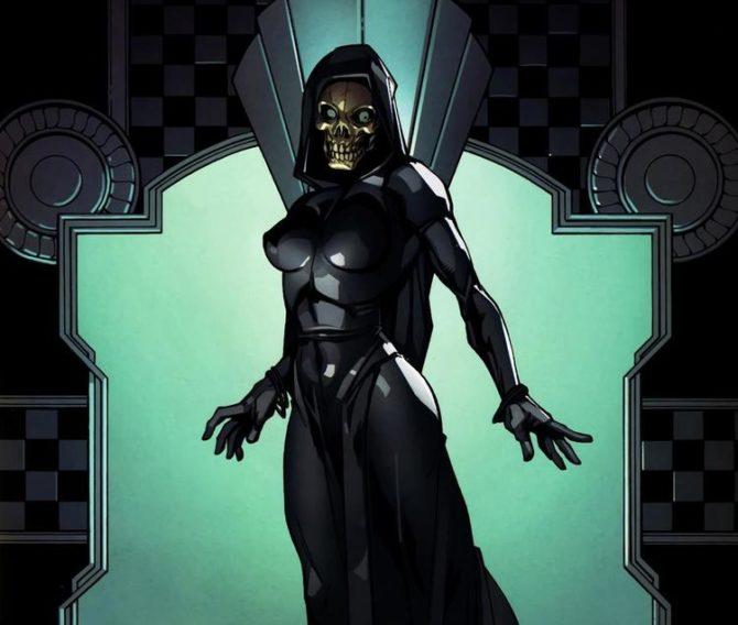 Morte, personagen do universo Marvel