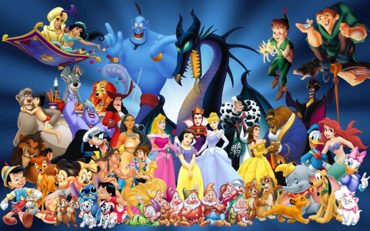 Personagens da Disney