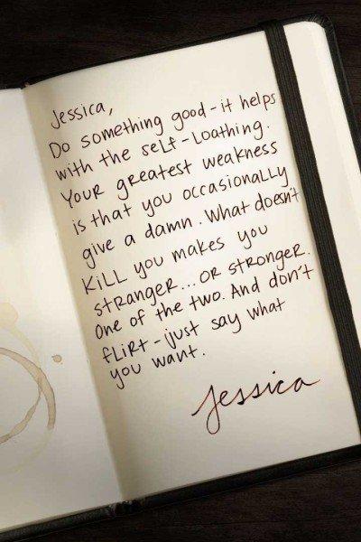 Bilhete de Jessica Jones