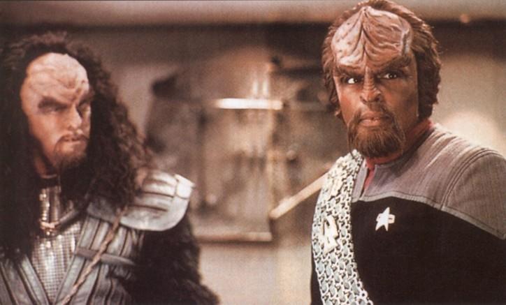 Dupla de Klingons em Star Trek