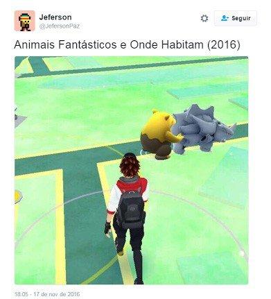 Memes de Animais Fantásticos