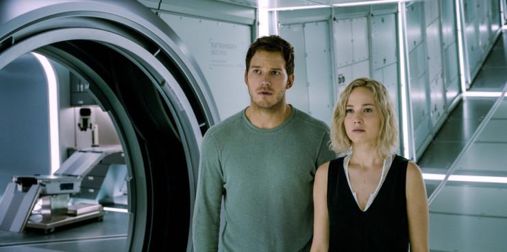 Resultado de imagem para passageiros filme 2016