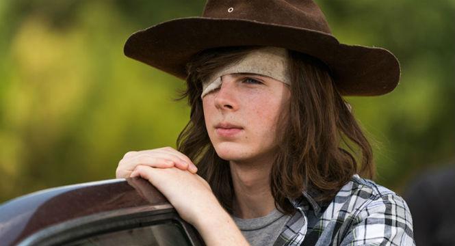 Chandler Riggs vai deixar a série — The Walking Dead