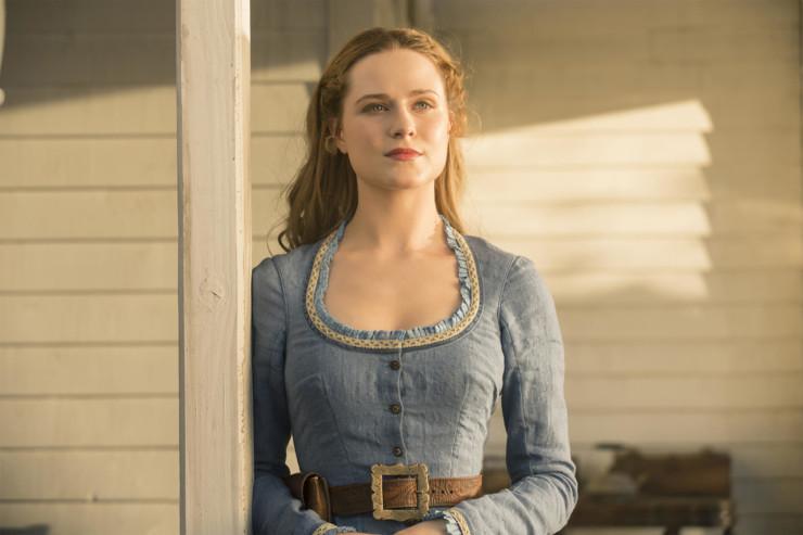 Evan Rachel Wood em Westworld