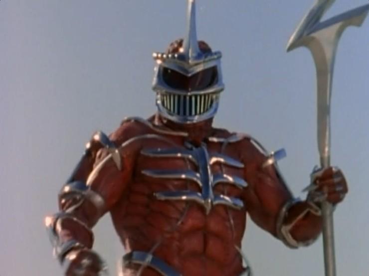 Lord Zedd em Mighty Morphin' Power Rangers