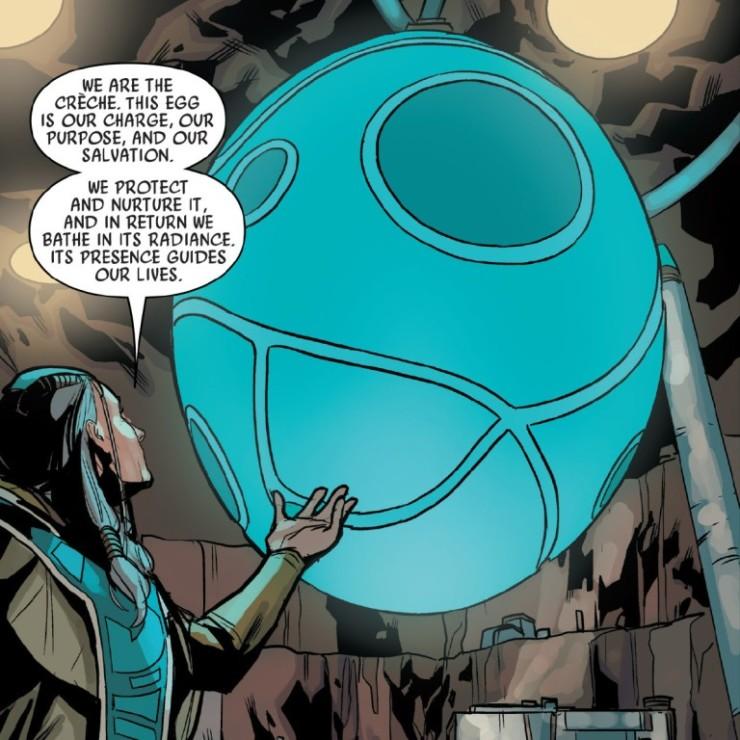 Os Crèche nos quadrinhos de Star Wars