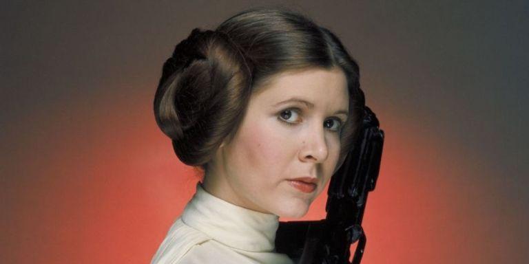 Carrie Fisher como Leia no original Star Wars.