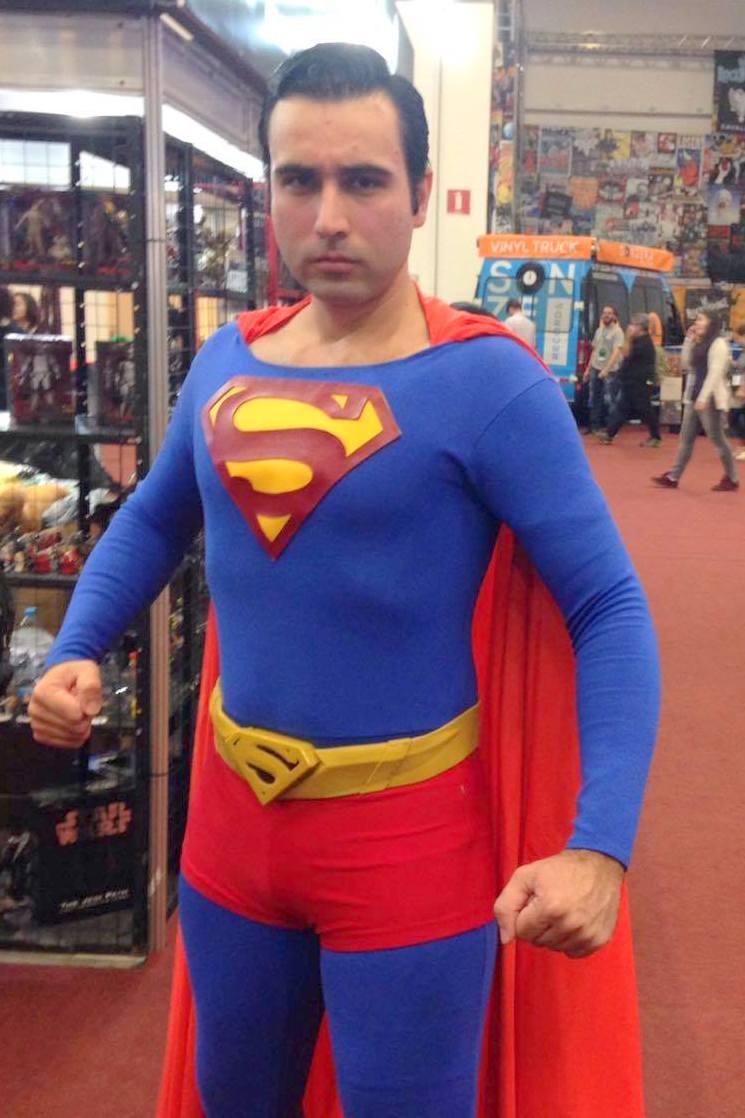 Thiago, o Superman brasileiro