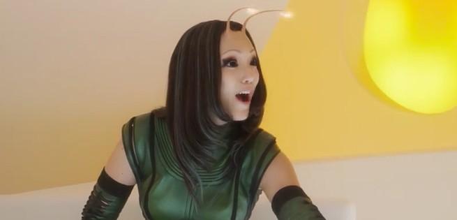 Resultado de imagem para personagem guardioes da galaxia  mantis