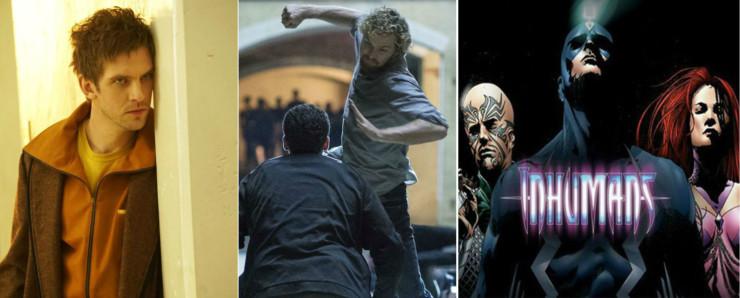 Legion, Punho de Ferro e Inumanos
