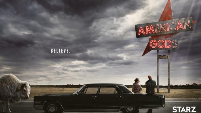 American Gods, série da Starz