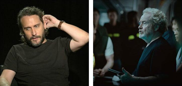 Fede Alvarez e Ridley Scott